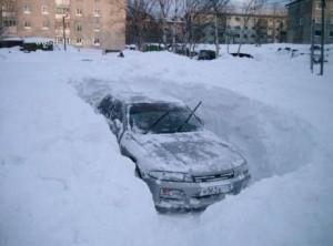 Освобождение автомобилей из снежного плена | Бизнес идеи
