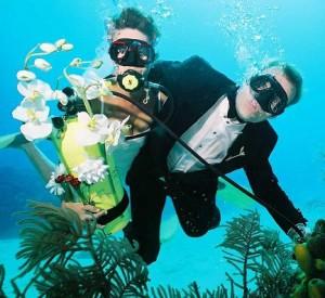 Организация необычной свадьбы под водой | Бизнес идеи