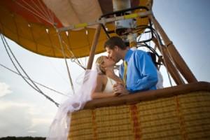 Свадьба на воздушном шаре | Бизнес идеи