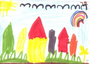 Ковры на основе детских рисунков | Бизнес идеи