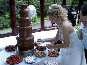 Шоколадный фонтан на свадьбу | Бизнес идеи