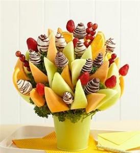 Букеты из фруктов и конфет | Бизнес идеи
